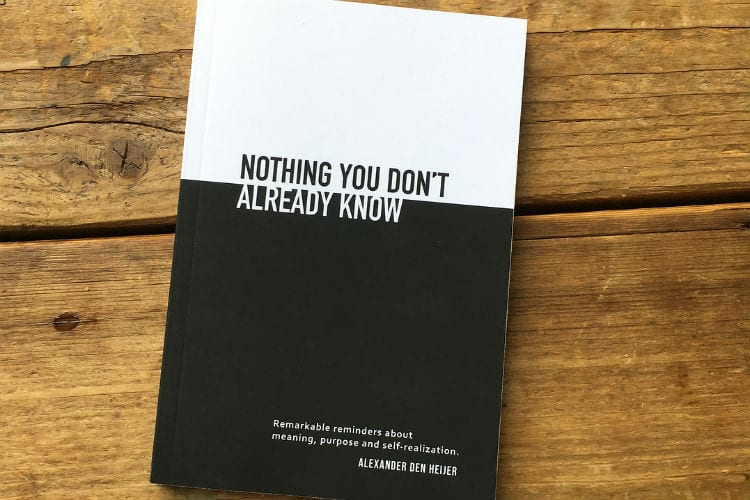 Citaten Werkplezier : Nothing you dont already know voor meer betekenis in je leven