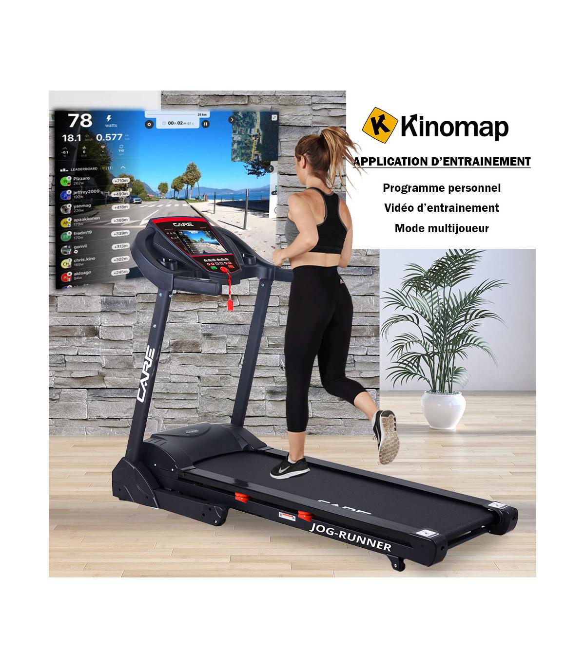 tapis de course connecte jog runner