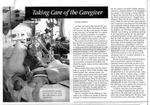 Caregiver page 1