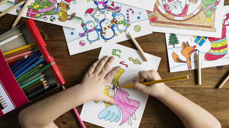 Dibujos de Navidad para niños