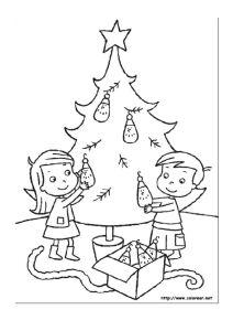 thumbnail of Dibujos para colorear de Navidad 2