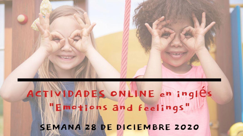 Actividades para niños en Navidad 2020 | aprende inglés y juega online | semana 28 Dic  Copia