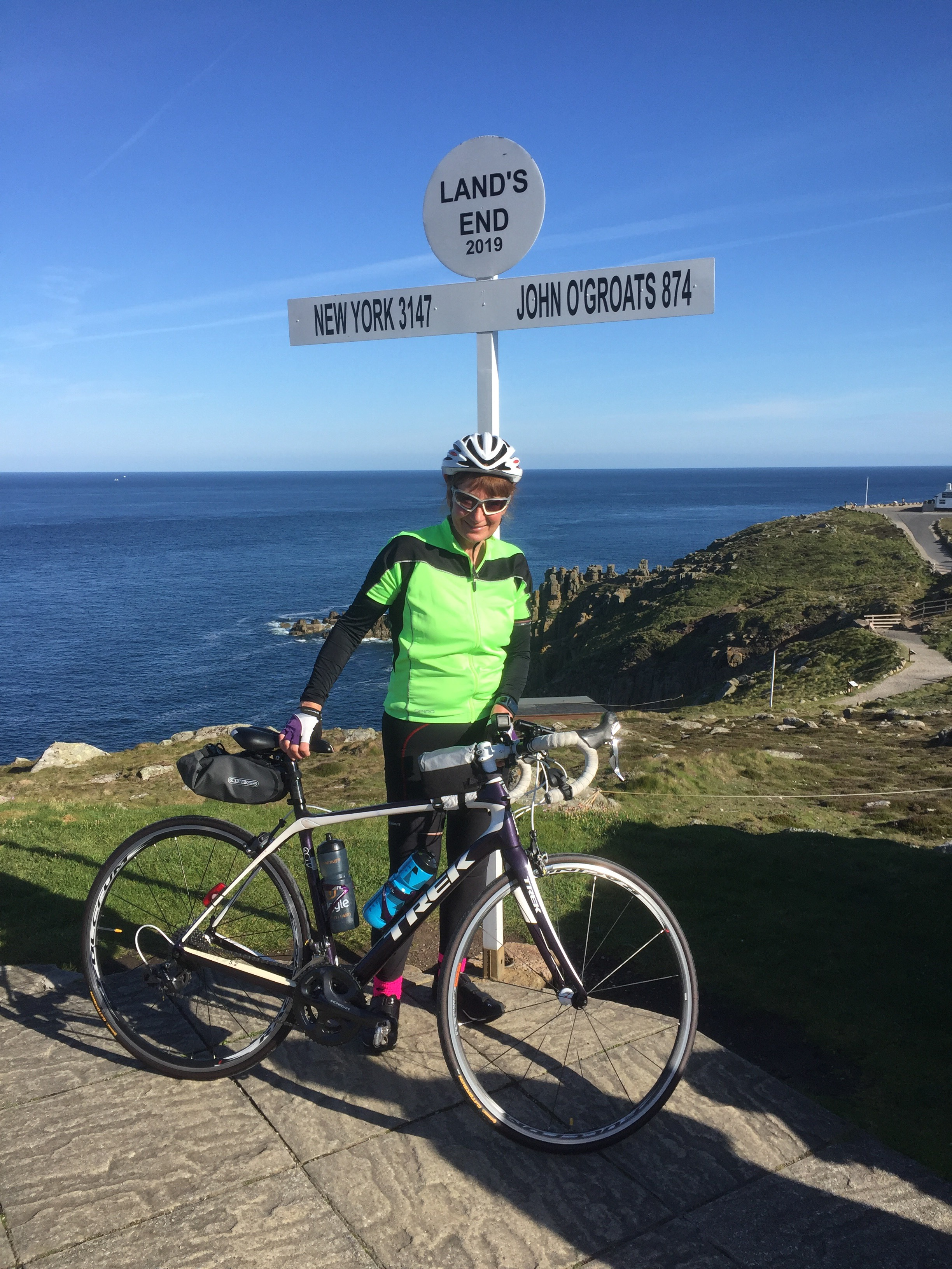Jacky Massos at Lands End