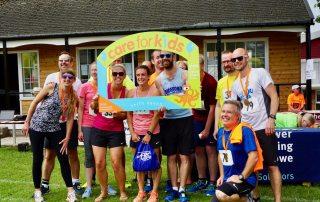 Team Torridge, fastest team