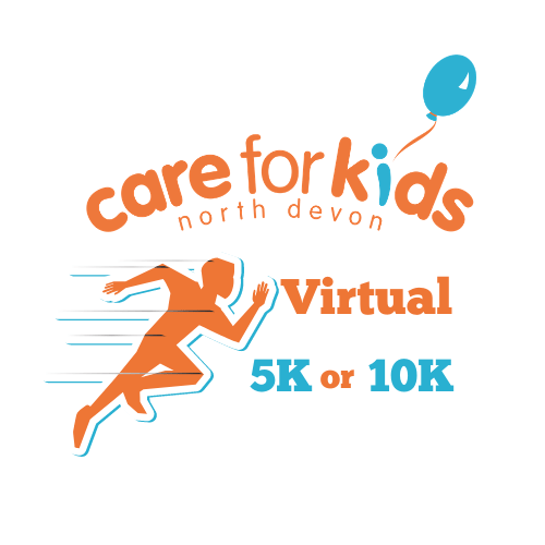Virtual run logo