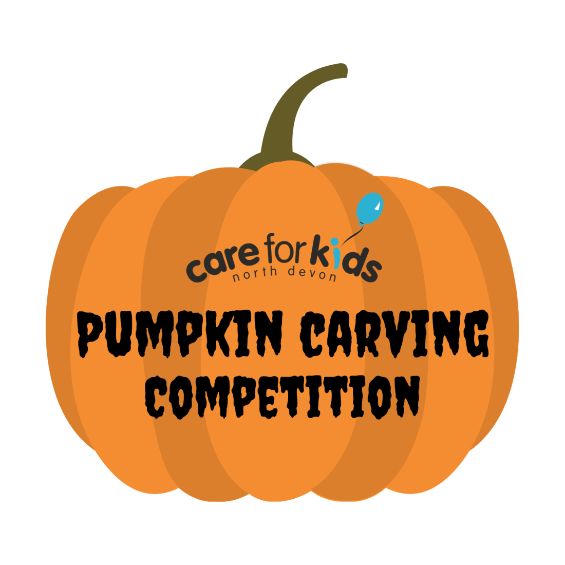 Pumpkin carving competition logo