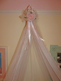 Canopy Crown Custom Bed Boutique PRINCESS | pretty things ...