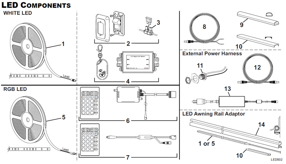Exploded Parts View