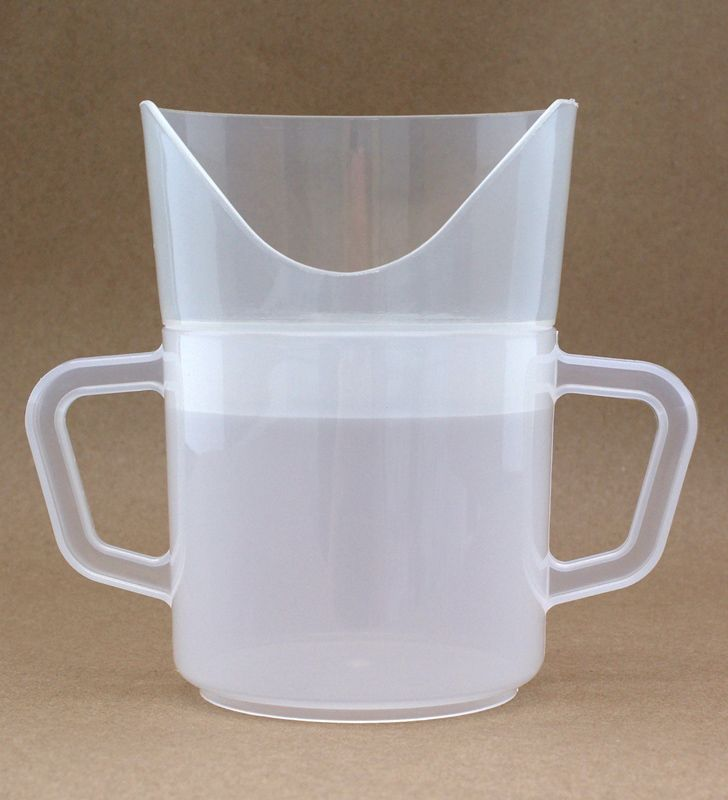 2 Handle Nosey Cup  whiplash cup with handles