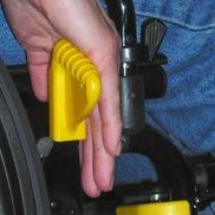 Wheelchair Grips Acrylic Desk Chair With Wheels Accu Wheel Lock Extensions Discontinued
