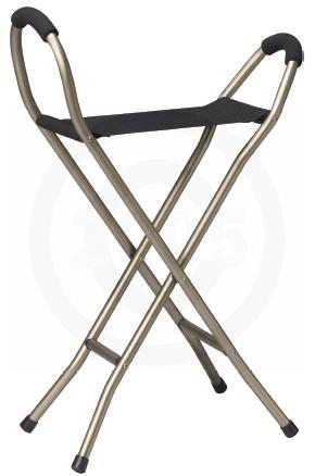 walking cane chair morris hardware sling seat folding discontinued