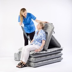 Inflatable Lifting Chair Office Master Yes Mangar Camel Emergency : Cushion