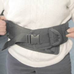 Wheelchair Cushion Small Glider Chair Safety Sure Padded Transfer Belt :: With Padding