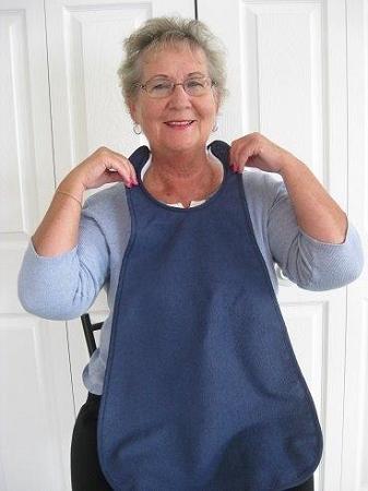 Quick Bib Vest Clothing Protector  adult shirt protector