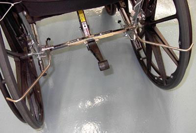 SafeTMate Wheelchair Anti Rollback Device  wheelchair