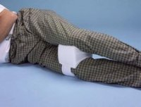 Knee Separator Pillow :: foam pillow for between knees
