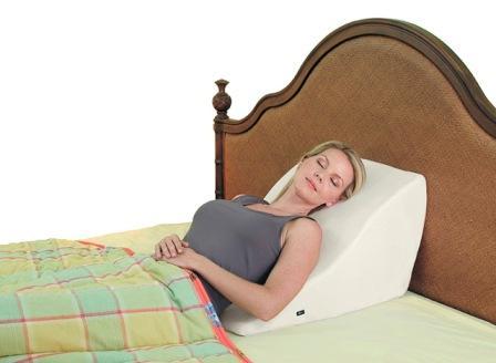 Contour Back Wedge Cushion with Massage  massaging back