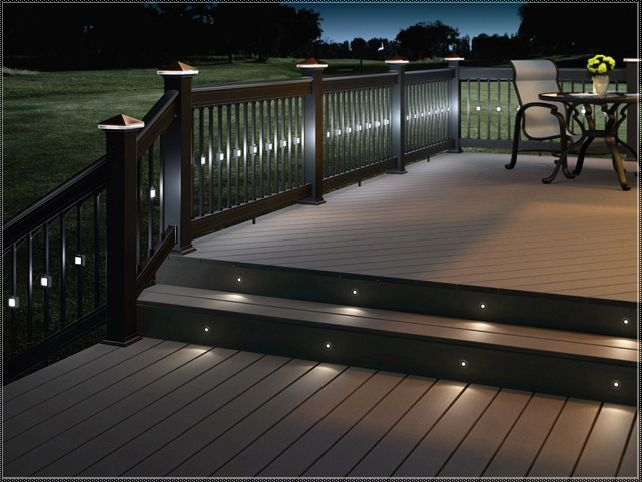 Illuminate your deck with deck lighting ideas  CareHomeDecor