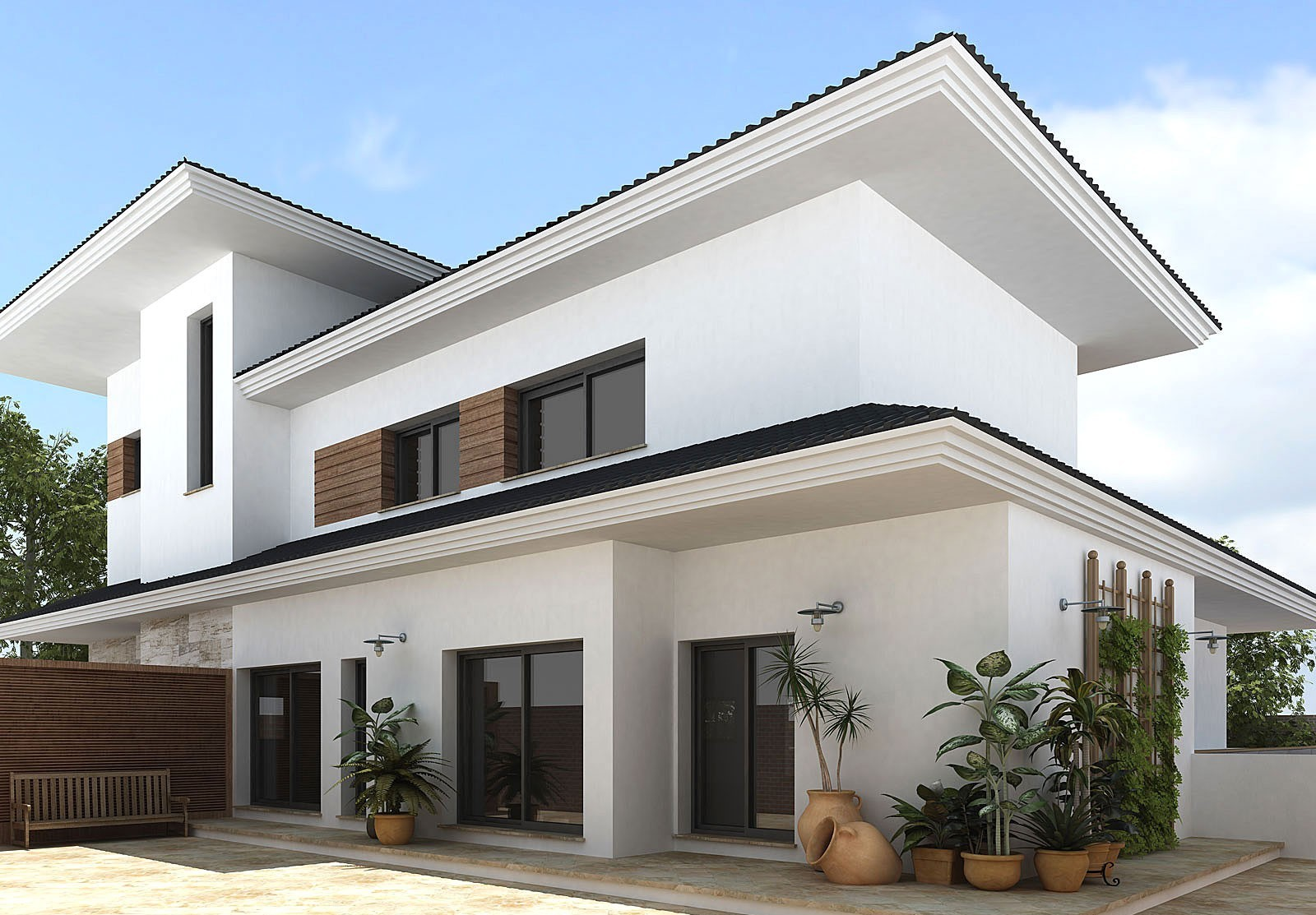 Exterior House Designs For An Ultimate Home – CareHomeDecor