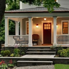Front Porch Ideas In The Front End – CareHomeDecor