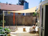 Patio shade ideas  inexpensive ways to shade your deck ...