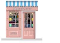 2-Drop Stamford Shop Front 'Hairdresser' Mural (280cm ...