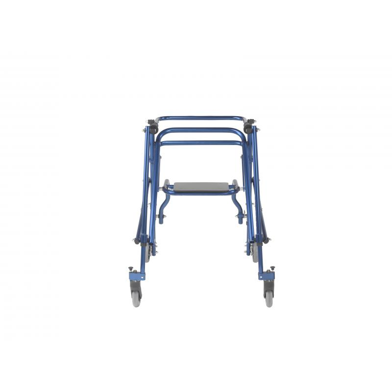 Nimbo 2G Lightweight Posterior Walker with Seat, Large