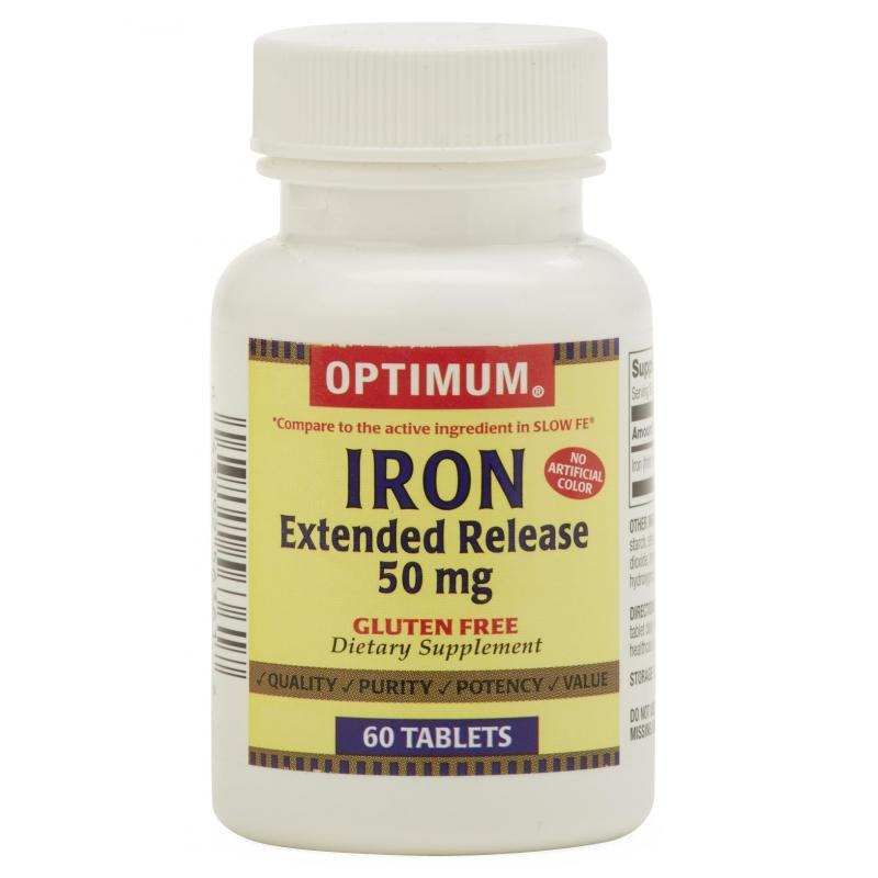 Extended Release Iron Tablets | GENERIC OTC ...