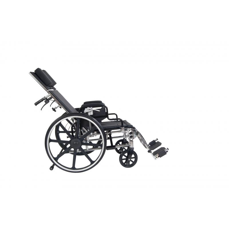 Viper Plus GT Full Reclining Wheelchair, Detachable Desk