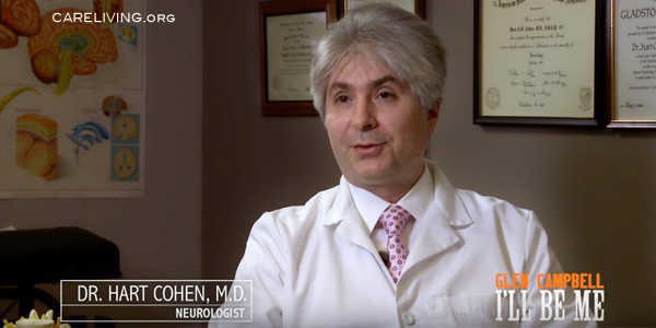 Dr. Hart Cohen discusses Glen Campbell and Alzheimer's Disease