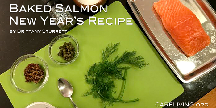 CareLiving Baked Salmon recipe by Brittany Sturrett.