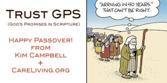 Happy Passover from Kim Campbell and CareLiving.org