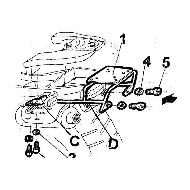 Portamatriculas Rizoma Kawasaki Z750r Para Motos y Motoristas