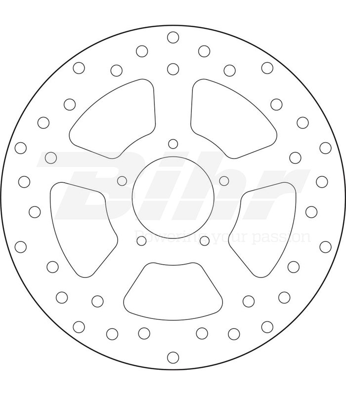 Discos De Freno Brembo Para Moto Malaguti 160 Centro Ie