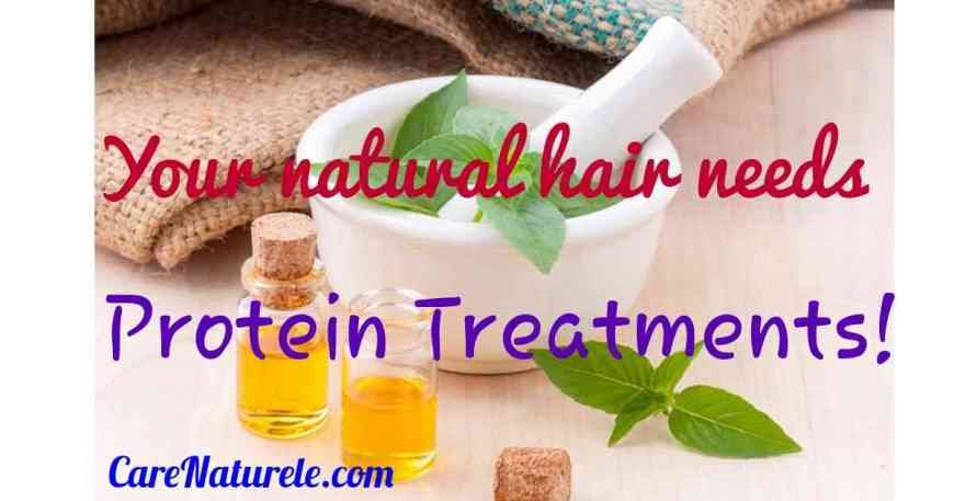 Protein treatments