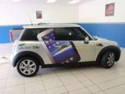 mini cooper car wrapping