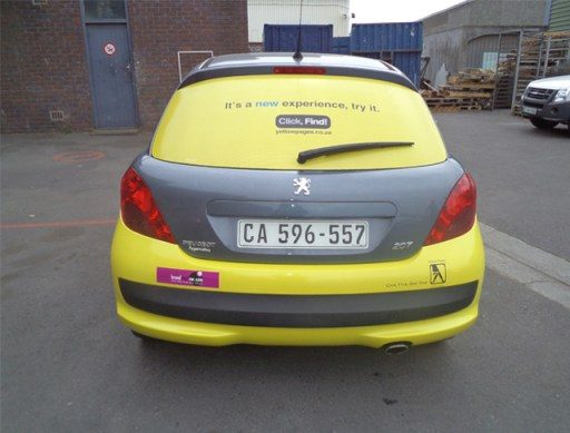 peugeot car wrapping for cash