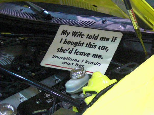 Buy A Muscle Car It Will Be A Funny Reason For Divorce Care Of Cars