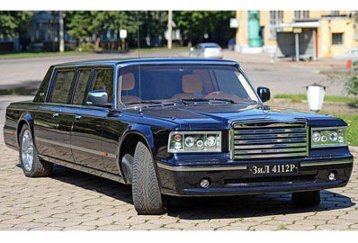 armored russian limousine ZIL