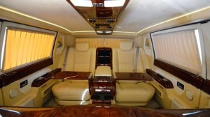 new Zil presidential limousine