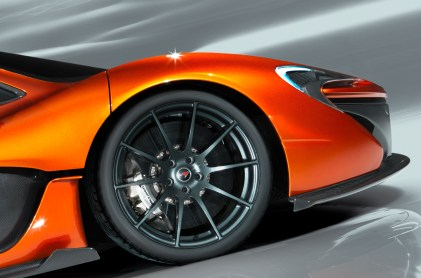 brakes for the new mclaren p1 2013