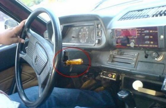 cheap-car-repair-screwdriver-shifter