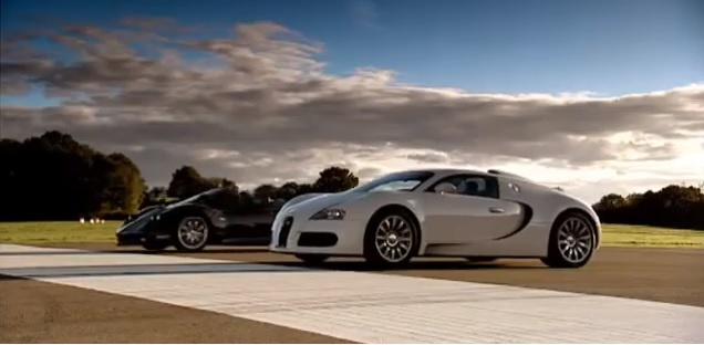 Supercar showdown, italians vs. germans: Pagani Zonda F vs. Bugatti