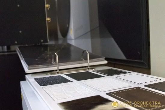 Materiali finiture diffusori audio video