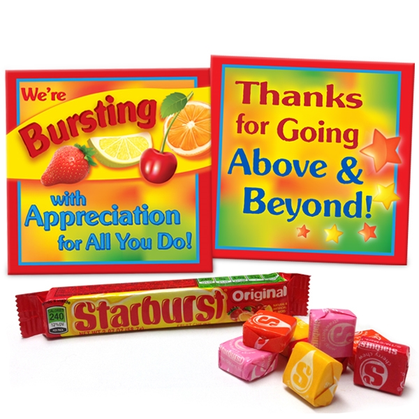 """We're Bursting With Appreciation For All You Do"