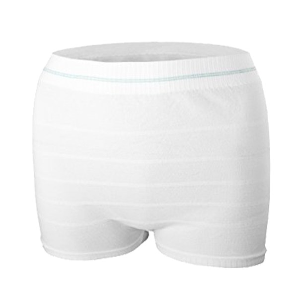 Mesh Postpartum Panties White Color 3PCS/Pack