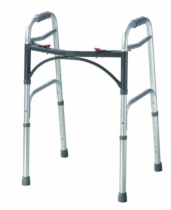 Med Rehabs Adjustable Lightweight Walker Easy Movements
