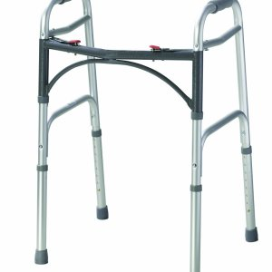 Med Rehabs Adjustable Lightweight Walker Easy Movements