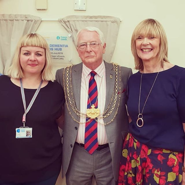 Delighted to be part of Young Dementia Leeds, a service launched today by Community Links.