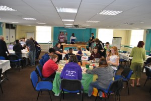 Arts & Crafts at our at our Annual Fun Day.
